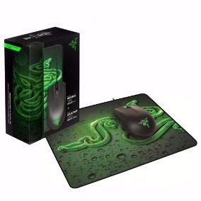 Razer Mouse Abyssus + Mouse Pad Goliathus