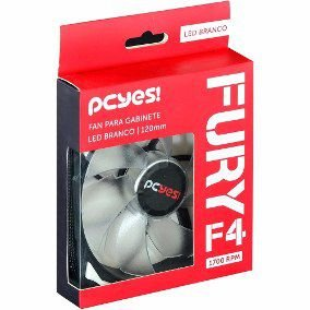 Fan Para Gabinete 120Mm Fury F4120Ldbc -