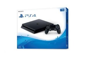 Playstation 4 Slim 1Tb - Ps4 - Play 4 - Kit De Fábrica