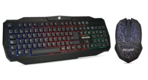 COMBO MOUSE/TECLADO BATTLEFIRE  DAZ 1 PC