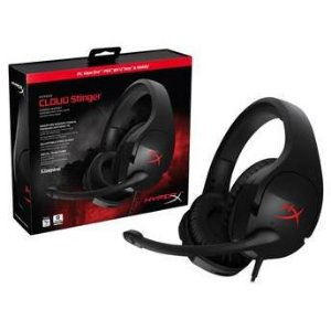Headset HyperX Cloud Stinger Gaming Preto PN # HX-HSCS-BK/NA