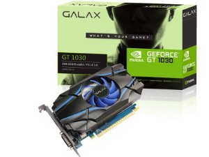 GEFORCE GALAX GT MAINSTREAM 30NPH4HVQ4ST GT 1030 2GB DDR5 64BIT 6008MHZ DVI HDMI