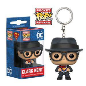 POP FUNKO CHAVEIRO - DC COMICS - CLARK KENT - Cod.Barra: 889698217743