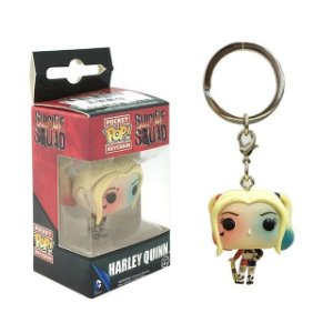 POP FUNKO CHAVEIRO - SUICIDE SQUAD - HARLEY QUINN