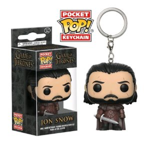 POP FUNKO CHAVEIRO - GOT S2 - JON SNOW - Cod.Barra: 889698146906