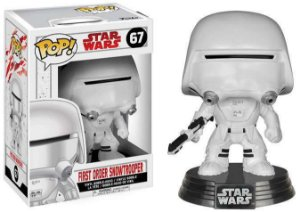FUNKO POP STAR WARS: TLJ- FIRST ORDER SNOW TROOPER - Cod.Barra: 889698147385