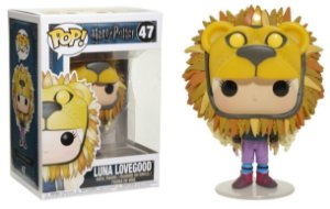 FUNKO POP HARRY POTTER: HP - LUNA LOVEGOOD W/ LION HEAD - Cod.Barra: 889698149440