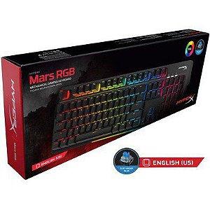Teclado HyperX Gamer Mars RGB LED PN # HX-KB3BL3-US/R4
