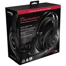 Headset HyperX Cloud Revolver S Surround 7.1 Gaming Preto. PN # HX-HSCRS-GM/NA