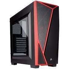 Gabinete Corsair Carbide SPEC-04 Black/Red PN # CC-9011107-WW