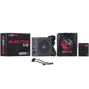 FONTE ATX 600W REAL ELECTRO V2 SERIES -