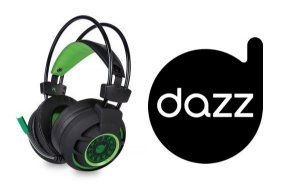 HEADSET DIAMOND 7.1 USB 2.0  DAZZ