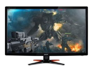"MONITOR 24"" 144hz LED/IPS ACER GAMER- GN246HL-3D-FULL HD-1MS- HDMI-DVI-VGA-VESA - UM.FG6AA.B03"