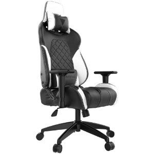 CADEIRA GAMER GAMDIAS ACHILLES E1 BLACK WHITE