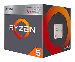 Processador AMD Ryzen 5 2400G 3.6 GHz 6MB AM4
