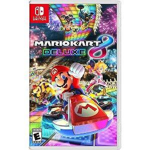 Mario Kart Deluxe 8 Nintendo Switch (semi-novo)