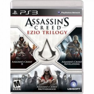 Assassins Creed Ezio Trilogy Ps3 (Semi-Novo)