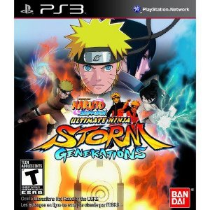 Naruto Shippuden Ultimate Ninja Storm Generations Ps3 (Semi-Novo)