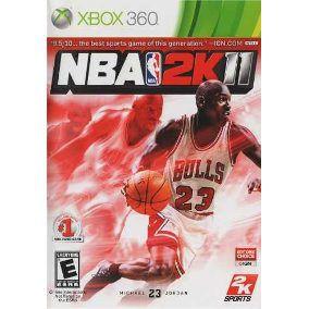 NBA 2K11 Xbox 360 (Semi-Novo)