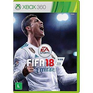 Fifa 2018 Xbox 360 (Semi-Novo)