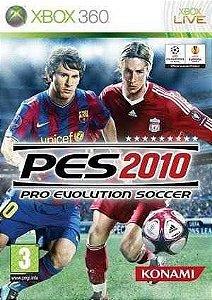 PES 2010 Xbox 360 (Semi-Novo)