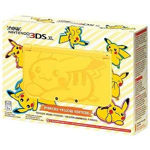 Nintendo 3DS Edição Pikachu (Semi-Novo)
