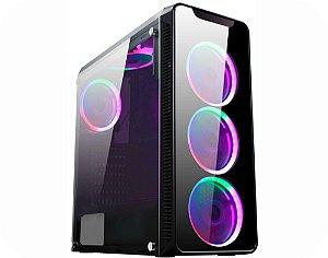 Computador Gamer V-Gamer Vega V2 - Ryzen 3 3200G - A320 - 8GB DDr4 - 1 Tb HD - SSD 120Gb - 400w - Gabinete