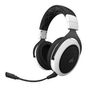 Headset Corsair HS70 Wir. Gaming 7.1 surround White PN # CA-9011177-NA
