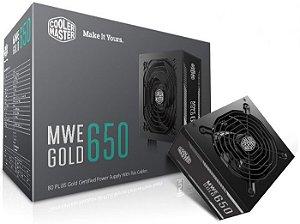 FONTE MWE GOLD 650W - MPY-6501-ACAAG-WO