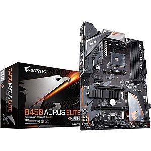 PLACA MAE AMD GIGABYTE B450 AORUS ELITE DDR4 AM4