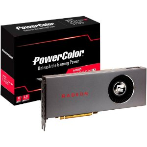 PLACA DE VÍDEO GPU AMD RX 5700 8GB RADEON D6 POWER COLOR 1A1-G00319000G