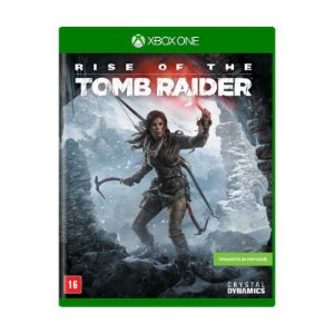 Rise of the Tomb Raider Semi novo - Xbox One