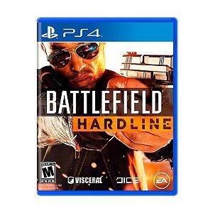 Battlefield: Hardline - Semi Novo PS4