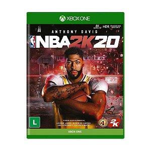 Pré-Venda NBA 2K20 Xbox One