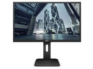 MONITOR 21,5 AOC LED 22P1E WIDESCREEN FHD VGA HDMI DP SAIDA DE AUDIO BASE AJUSTAVEL VESA