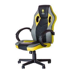 CADEIRA GAMER EG901/HUNTER PRETO/AMARELA - EVOLUT