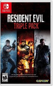 Resident Evil Triple Pack - Switch - Pre Venda