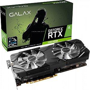 Placa de vídeo GPU NV RTX 2060 6GB 1CLICK OC G6 192B GALAX 26NRL7HPX7OC