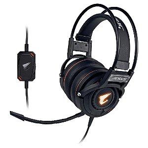 Headset Gamer Aorus USB RGB Preto H5