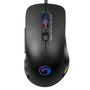 Mouse Gamer Marvo M508, Rainbow, 3200 DPI, 6 Botões, Black