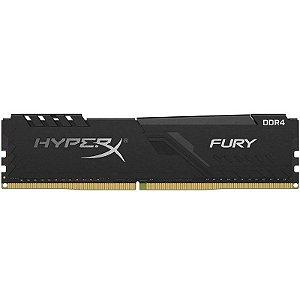Memória P/ Desktop 16gb DDR4 - 2666 Mhz Kingston HyperX Fury Black HX426C16FB3/16 (1X16gb)