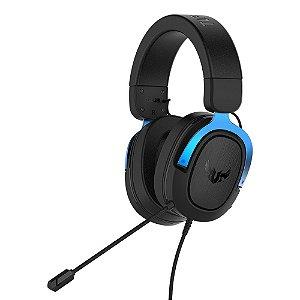 Headset Asus TUF H3 Blue, 7.1, Surround, 50mm, PC/MAC/PS4/Siwtch/Xone/Phones - 90YH029B-B1UA00