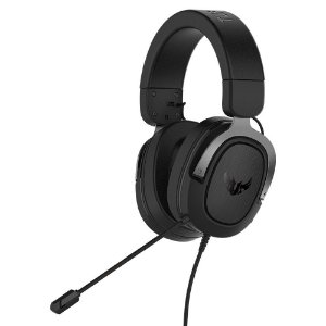 Headset Asus TUF H3 Gun Metal, 7.1, Surround, 50mm, PC/MAC/PS4/Siwtch/Xone/Phones - 90YH028G-B1UA00
