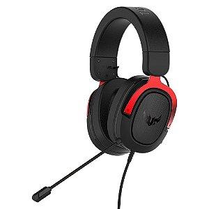 Headset Asus TUF H3 Red, 7.1, Surround, 50mm, PC/MAC/PS4/Siwtch/Xone/Phones - 90YH02AR-B1UA00