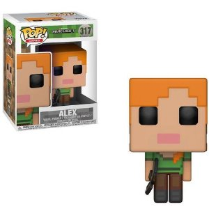 Boneco FUNKO POP! Games Minecraft - Alex