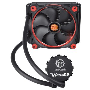 Watter Cooler TT Thermaltake, Water 3.0 140, Riing Red, All in One, LCS, 140mm - CL-W150-PL14RE-A