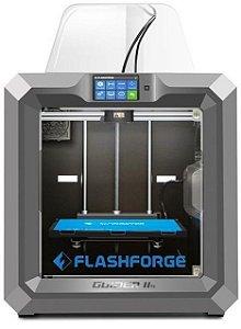 Impressora 3D Flashforge, Guider IIS, Touch, USB, Wifi, Fechada, Prata - 6970152952462