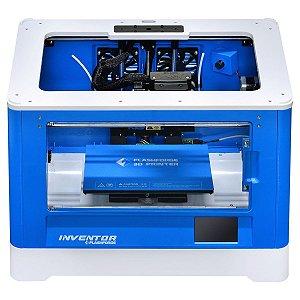 Impressora 3D Flashforge, Inventor, USB, SD, Wifi, Azul - 6970152950192