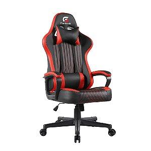Cadeira Gamer Fortrek, Vickers, Preta/Vermelha, Fixa - 7898554606594