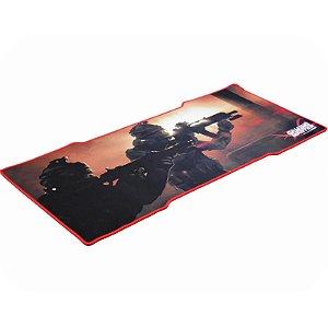 Mouse Pad Gamer, Grande, 80x35cm, Costurada, Swat - 7898426849234